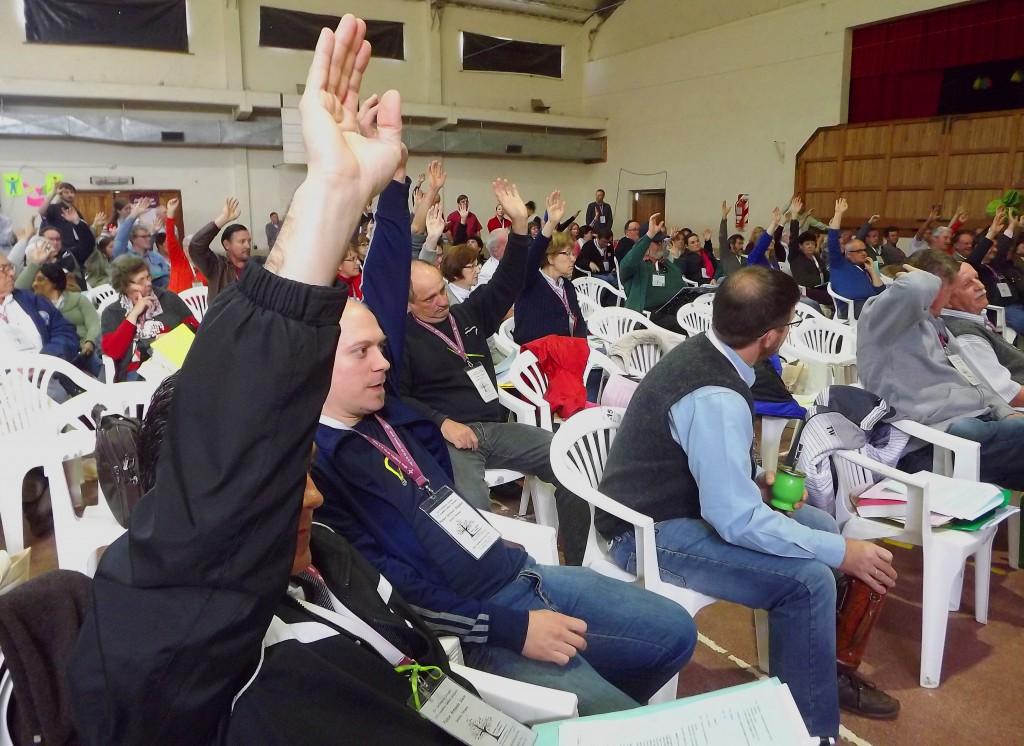 Votación por el Fondo de Formación Teológica