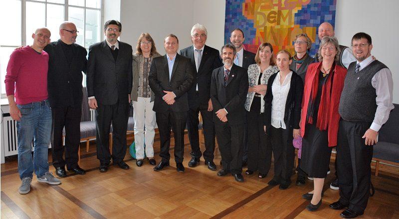 La Secretaria General participó del culto de despedida de Gerhard Duncker