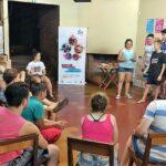 Adolescentes reflexionan sobre el cuidado del cuerpo