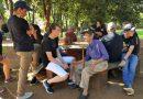 Los jóvenes de Santa Rosa visitaron un Hogar de Ancianos