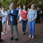 El Presidente Macri visitó en Misiones un emprendimiento de una familia protestante