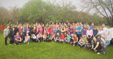 Ochenta jóvenes reflexionaron sobre el medio ambiente en el campamento entrerriano