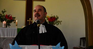 Primera entrevista al Pastor Leonardo Schindler luego de ser electo Pastor Presidente de la IERP
