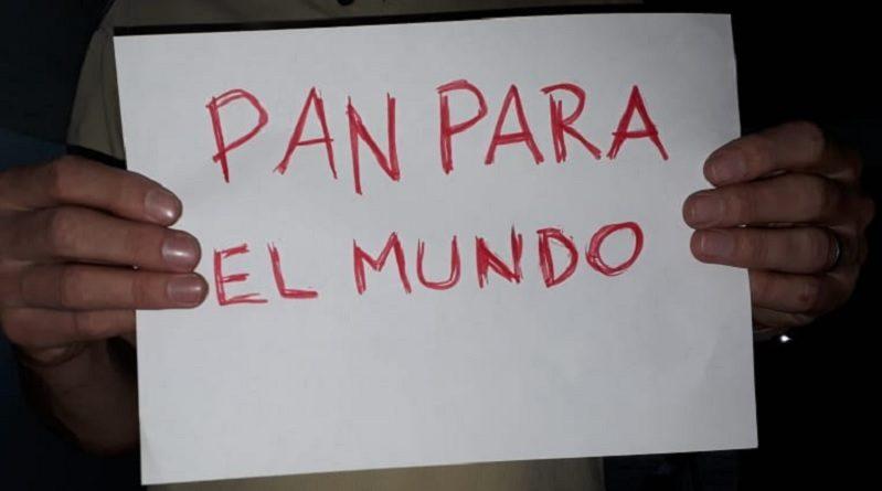 """Taxista con cartel """"Pan para el mundo"""" fue demorado acusado de """"manifestarse políticamente"""""""