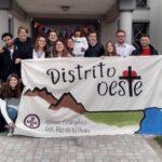 """Jóvenes del Oeste firmaron carta de compromiso con el """" medioambiente y la creación"""""""