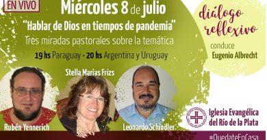 """LIVE: """"Hablar de Dios en tiempos de pandemia"""""""