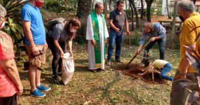 «Plantada ecuménica» en el Parque de la Salud de Posadas