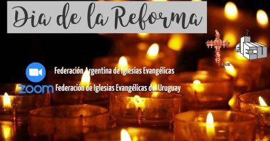 FAIE y FIEU invitan al Culto por el Día de la Reforma