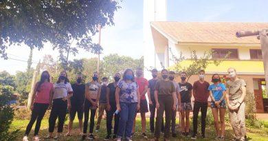 Después de 13 meses, jóvenes de Misiones realizan taller presencial