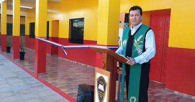 La IERP invitada a inaugurar escuela en Santa Rosa del Monday