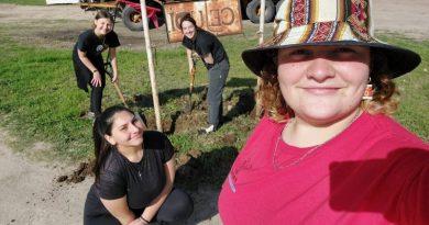 Jóvenes de Entre Ríos realizan campamento de trabajo en el CEJUDI